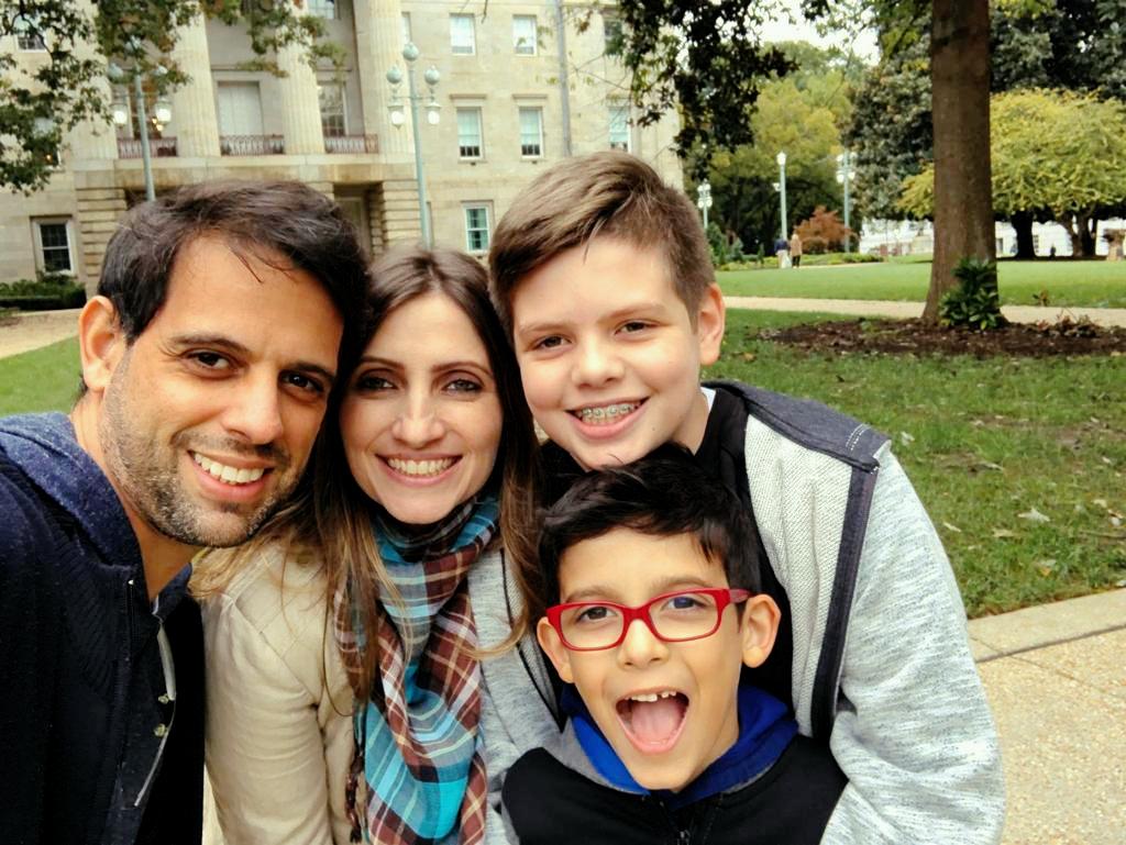 Milton Lima and family