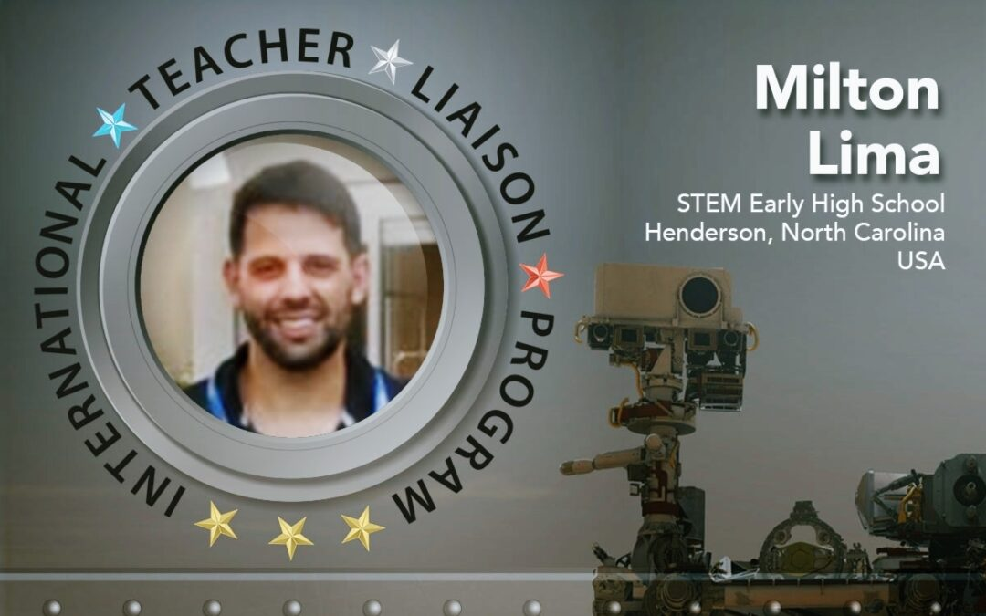Milton Lima is Teacher Liaison to Space Foundation