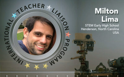 Milton Lima is Teacher Liaison to Space Foundation